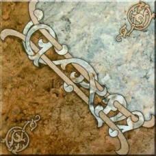 Напольная плитка Ковёр Арабская вязь 32,7х32,7