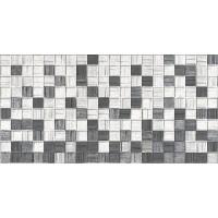 Плитка AXIMA Мегаполис серая мозаика 25х50 Настенная