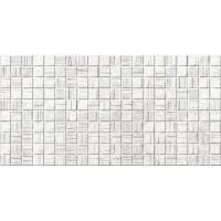 Плитка AXIMA Мегаполис светло-серая мозаика 25х50 Настенная